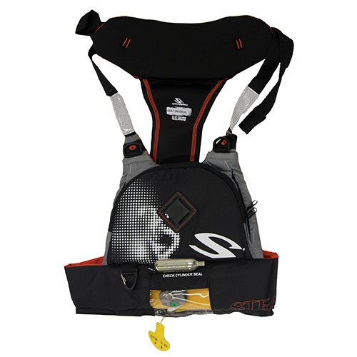 Check Out This STEARNS PFD 4430 Inflatable Chest Pack Manual, 16gr, Orange