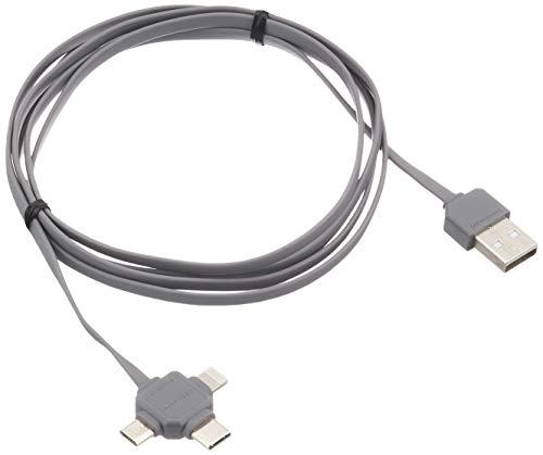 Allocacoc USB Kabel grau