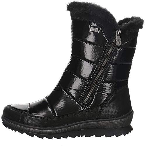 Remonte Stiefel in Übergrößen Schwarz R8473-02 große Damenschuhe, Größe:44