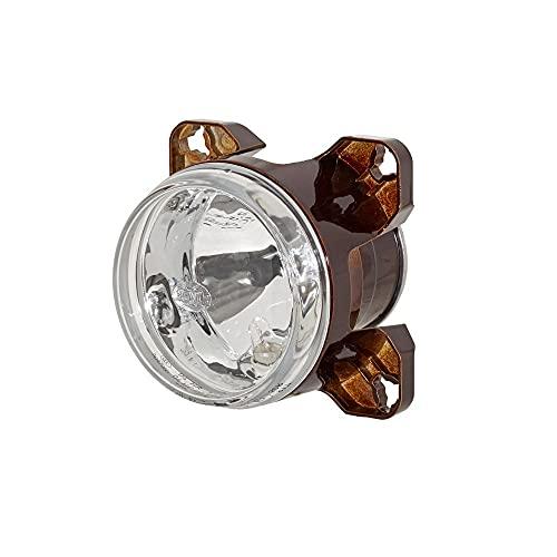 HELLA 1K0 008 191-011 FF/Halogène-Optique, projecteur longue portée - 90mm Essential - 12V - rond - Chiffre de référence: 12.5 - Montage encastré - disperseur limpide - gauche/droite - Quantité: 1