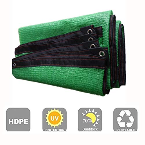 Sonnenschutznetz AGYH Schattiernetz, Grün Outdoor-Sonnensegel, Sonnenschutz Stoffe Auf Der Dachterrasse Garten Gewächshäuser Pool Deck, Wirkt Sich Nicht Auf Das Pflanzenwachstum (Size : 8x10m)