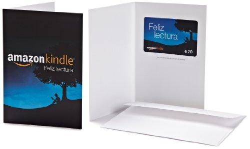 Tarjeta Regalo Amazon.es - €20 (Tarjeta de felicitación Kindle)