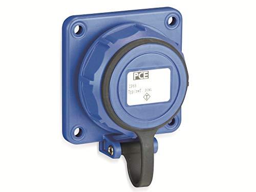 Preisvergleich Produktbild PCE 20351-8b Anbau-Steckdose IP68 Blau