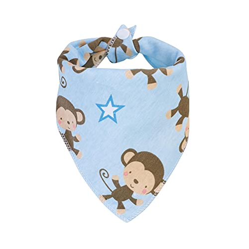 DNAEGH Baberos,Baby Bandana Drool Bibs,Organic Cotton Bibs for Boys & Girls,Super Soft Absorbent Feeding Bibs,Newborn Bibs. WDK0006
