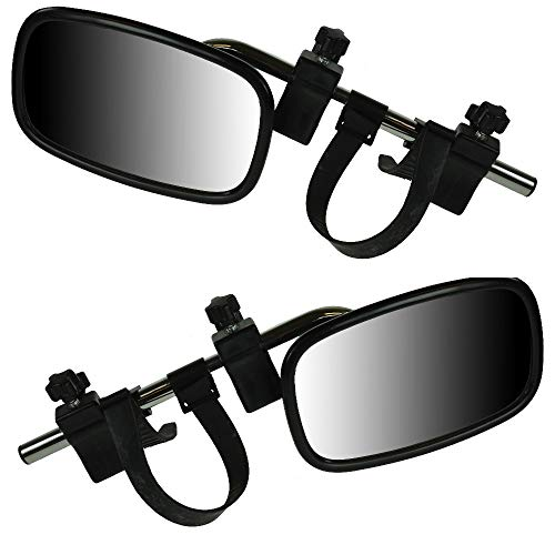BITS4REASONS MAYPOLE NEW MODEL MP8329 LARGE EXTENSION CARAVAN TOWING MIRRORS PAIR (CONVEX)- NEW CLAMPING SYSTEM.…