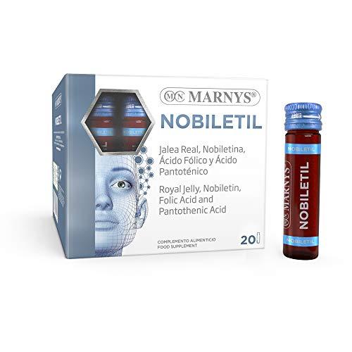 MARNYS Nobiletil Desarrollo Mental con Vitamina B5, B9, Jalea Real, Nobiletina 20 Viales