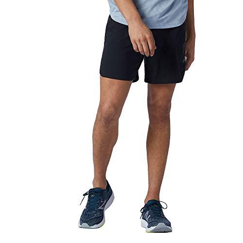 New Balance Men's Q Speed Fuel 7 Inch Short, Black , Medium