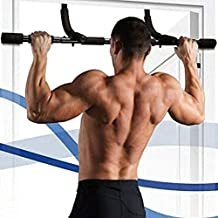 Exercise Bands Resistance Band Pull Up Bars Gym Pull Up Sit Up Door Horizontal Bars Portable Chin-Up Upper Body Trainer Fi...