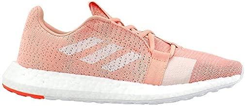 adidas Women's Senseboost Go Running Shoe Glow Pink-White-hi Res Coral 8.5