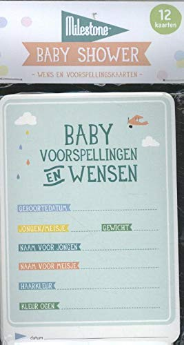 Babyshower kaarten: Baby voorspellingen en wensen