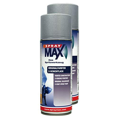 Kwasny 2X Auto-K Spraylack Lackspray Spray Lack 2-Schicht Original-Farbton Blanc Glacier 389 9 Ml