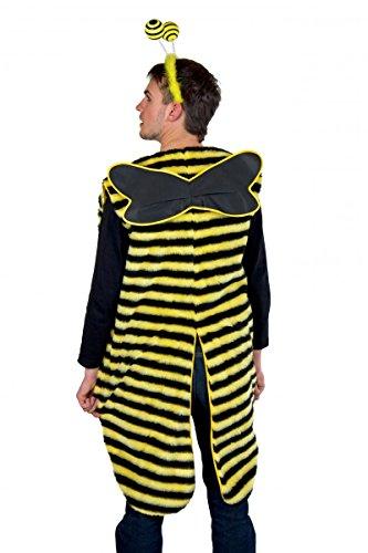 Kostüm für Erwachsene Bienenmann Gr.XL