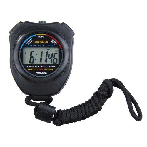 Demiawaking Timer Digitale Cronometro Cronografo Sportivo Contatore con Cinghia
