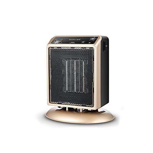 equipment Riscaldamento Ventilatore,Casa,Mini Riscaldamento,Desktop,Piccolo,Risparmio Piccolo Sole,Calore Rapido,Muto,Luce,Piccolo Condizionatore d'Aria (Color : Gold)