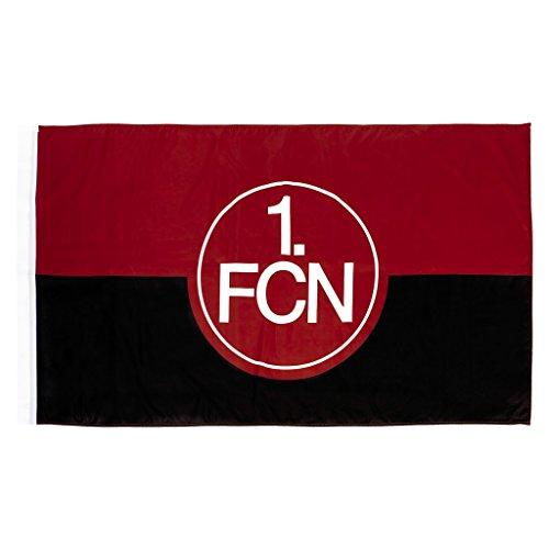 1. FC Nürnberg FCN Schwenkfahne 150 x 90cm rot-schwarz Lizenzprodukt