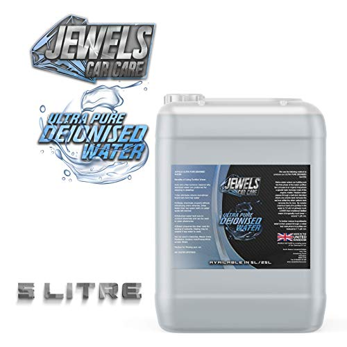 Jewels - Ultra Pure Deionised Water (Not Distilled) (5 x 5Litre)