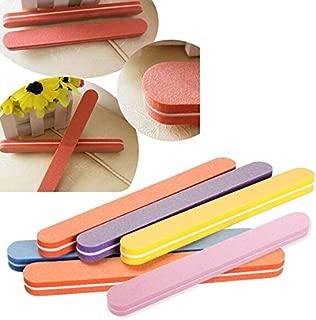 GOUMAO 5PCS Nail Art Polish Sandpaper Strip Bar Set Polishing File Tool 88