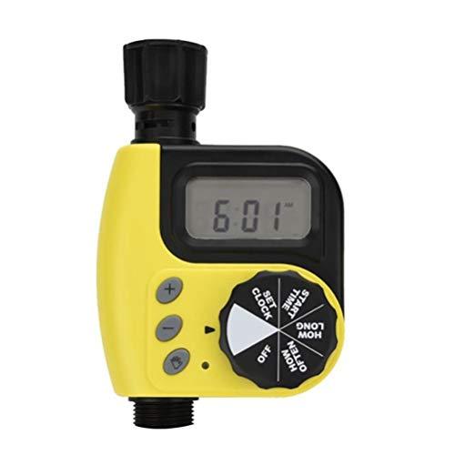 Dan&Dre Temporizador de riego automático para jardín, temporizador electrónico de manguera de agua para el hogar y el jardín