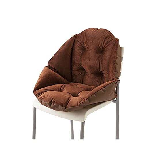 PYSMKJ Cojín de Asiento, cómodos Cojines de Asiento de jardín, Cojines para sillas Antideslizantes para jardín Terraza Playa Camping y Viajes (Color : B)