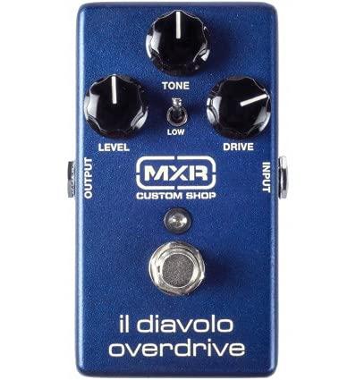 MXR Custom CSP036 Il Diavolo - Overdrive Guitarra