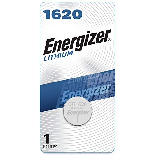 Energizer 1620 Batteries 3V Lithium, (1 Battery Count)