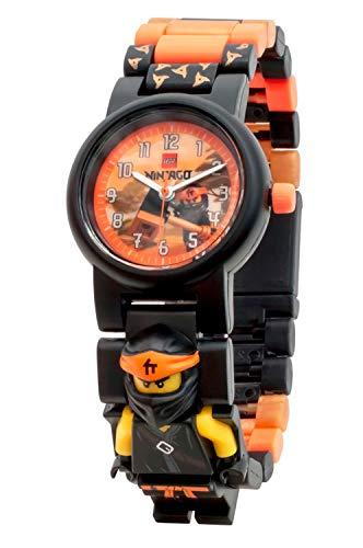 Lego Unisex-Kinder Analog Quarz Uhr mit Plastik Armband 8021728