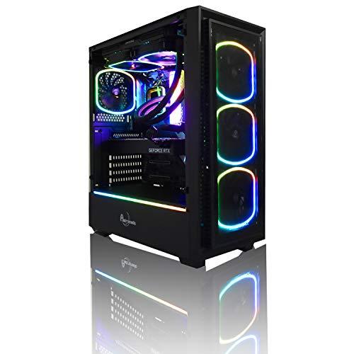 【Astromeda AQUA】ゲーミングデスクトップパソコン【intel core i9 9900KF/RTX2080ti/RGBメモリ16GB/SSD240GB/HDD2TB/Windows10 Home 64bit/黒ケース】