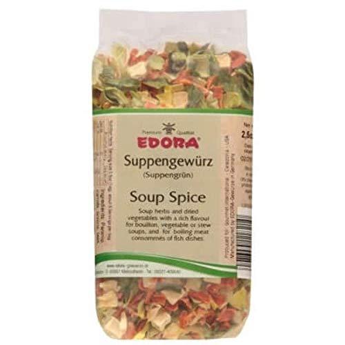 Premium Qualität Gewürz EDORA Beutel Tüte Suppen-Gewürz Suppengewürz Suppe Suppengrün 70 Gramm