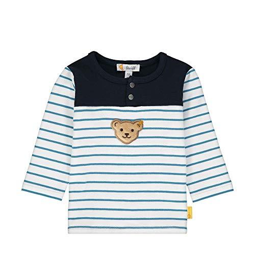 Steiff Baby Sweatshirt Ju.uni Schulter Größe: 062 Farbe: hellblau