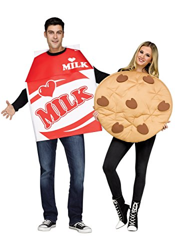 Adult Cookies and Milk Fancy dress costume Standard