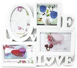 【ノーブランド品】 ハイセンス LOVE & LOVE デザイン おしゃれな 白い フォトフレーム 新婚 カップルさんに...