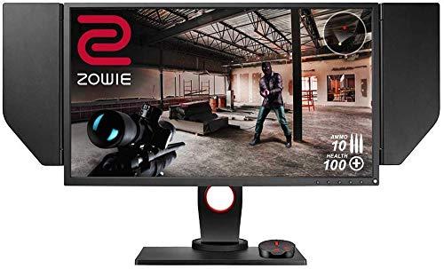 BenQ ZOWIE XL2546 24.5 Pollici 240 Hz e-Sports Gaming Monitor con DyAc, FHD, DP, Nero eQualizer, Regolabile in Altezza, S Switch, Nero eQualizer, Dark Grey
