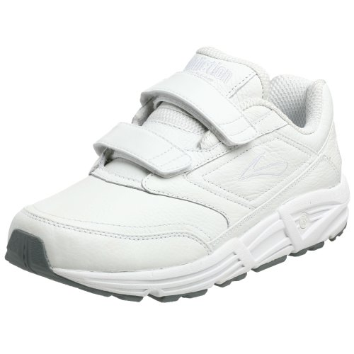 Brooks Men's Addiction, White, 8.5 D - Medium