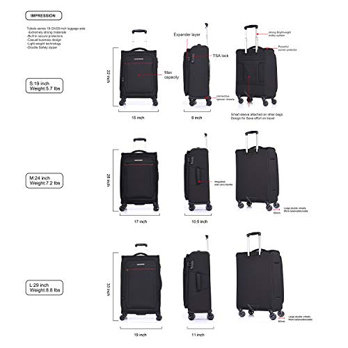 Graffiti Geometric Glass Window Traveler Lightweight Rotating Luggage Protector Case Can Carry With You Can Expand Travel Bag Trolley Rolling Luggage Protector Case