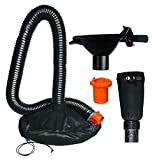 WORX WA4058 LeafPro Universal Leaf Collection System for All Major Blower/Vac Brands,Black/Orange