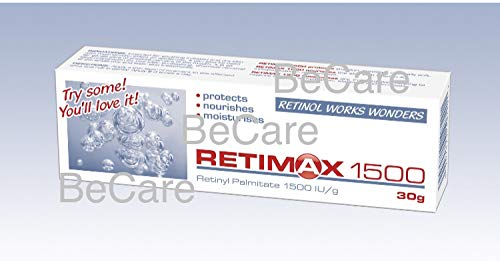 RETIMAX 1500 Vitamin A Retinol Protective Ointment Anti-Ageing Anti-wrinkles cream for dehydrated skin, 30g
