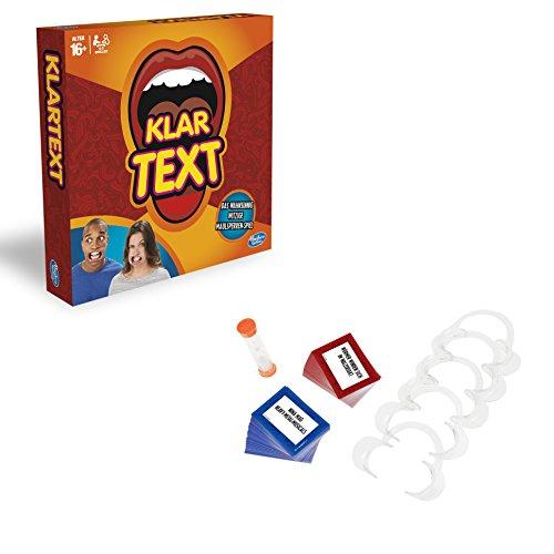 Hasbro Spiele C2018100 - Klartext, Partyspiel