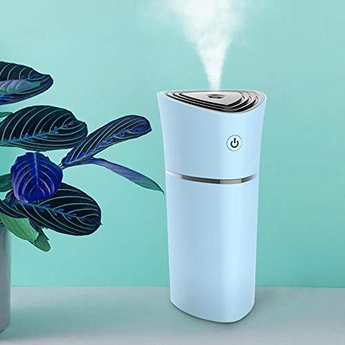 Fen&G luchtbevochtiger voor lamp, kleurrijk, kop, luchtbevochtiger, diffuser, luchtreiniger, mini draagbaar, USB, luchtbevochtiger, etherische olie, aroma-diffuser, blauw