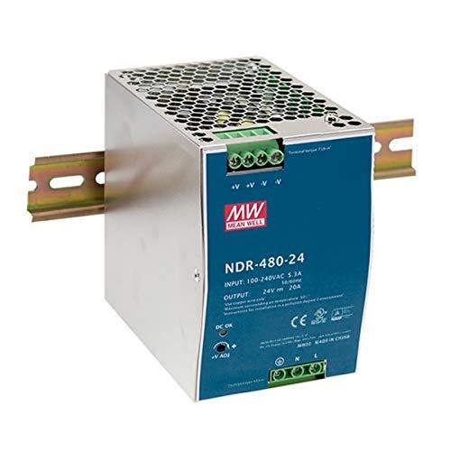 Mean Well NDR-480-24 AC-DC Single Output DIN-Schienen-Netzteil