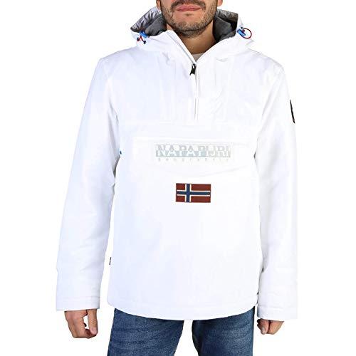NAPAPIJRI Rainforest 2.0 Half Zip Jacket Small White