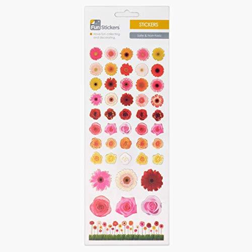 Fun Stickers Flower Heads 415
