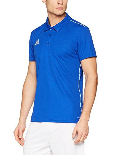 Adidas Core18 Camiseta Polo, Hombre, Bold Blue/White, L