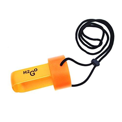 Outlook Design H2GO flessendrager met riemen oranje