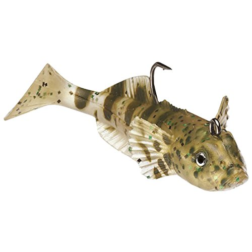 WildEye Live Goby - Sale Swimbait, 3', 1/4 oz, Natural, Floating,3 Pk