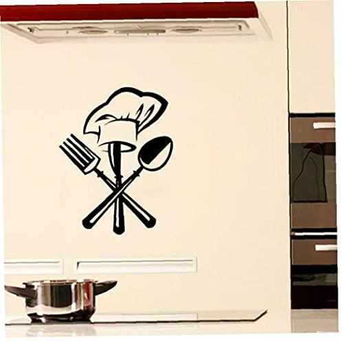 Froiny Wandaufkleber Kreative Besteck Aufkleber-wandtattoo Tapeten Wohnkultur Aufkleber Für Küche Restaurant-Dekoration