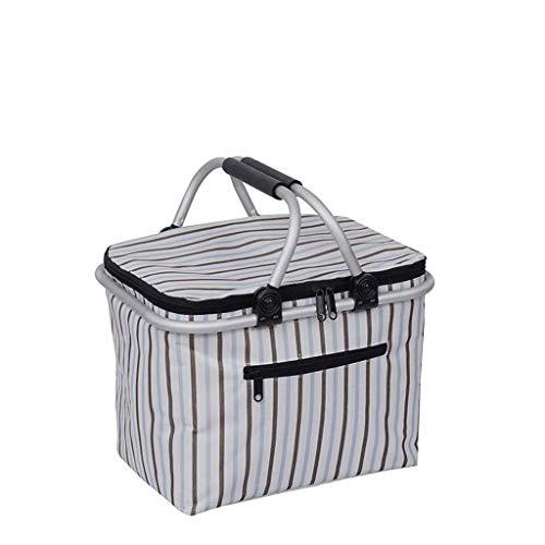 cesta mimbre asa de la marca DHUYUN