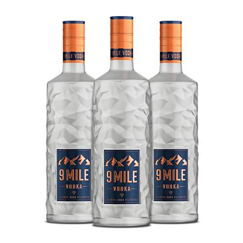 9 MILE Vodka (3x0.7l) » inkl. LED-Beleuchtung «
