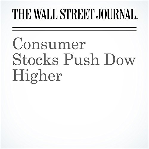 Consumer Stocks Push Dow Higher copertina