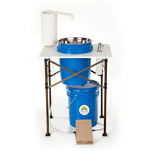 Deluxe Camp Sink - Portable Handwashing Station