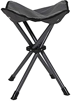 STANSPORT - Deluxe 4 Leg Camping Stool Compact Lightweight Portable Stool for Outdoor Use